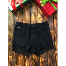 Женские шорты - Чёрные
