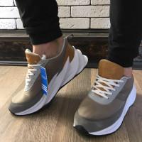 Кроссовки - В стиле Adidas Shark (Бежевые)