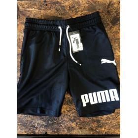 Мужские шорты - В стиле Puma (Чёрные)