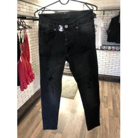 Джинсы - в стиле Corridor Jeans (Чёрные)